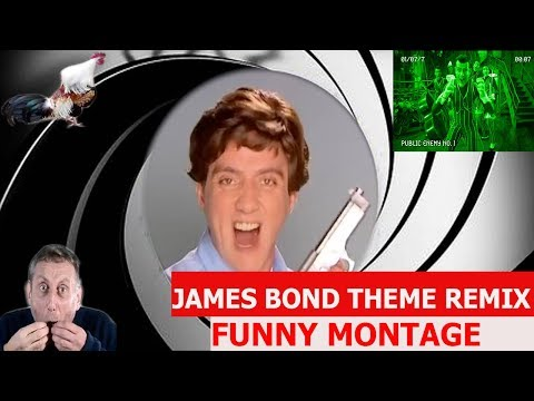 James Bond 007 Theme Remix - FUNNY MONTAGE