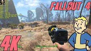 Fallout 4  Titan Xp 4K UltraHD Ultra Settings!! Fps Performance Gameplay
