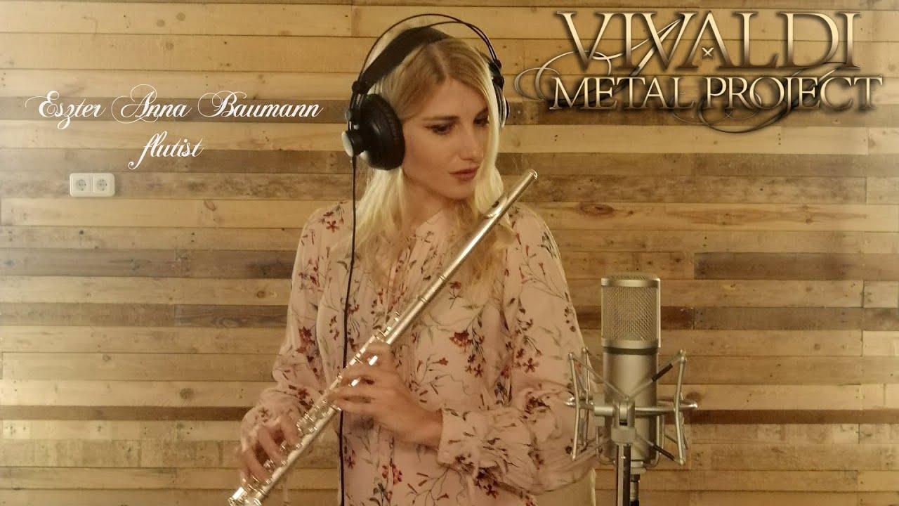 Flutist Eszter Anna Baumann announces her participation in our new album