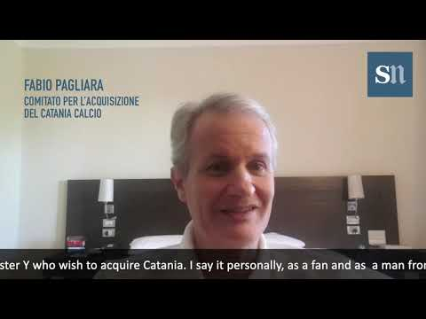 Catania Calcio, Pagliara: «Our S.p.A. will make an offer to buy the club»