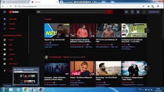 Google ve Youtube Müthiş Temalar (Renkli Yazı) STYLİSH