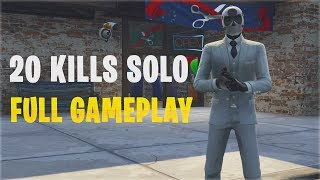 New Wildcard Skin - 20 Kills Solo | PS4 - Fortnite Battle Royale Gameplay