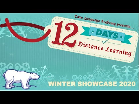 12 Days of Distance Learning - Cave Language Academy