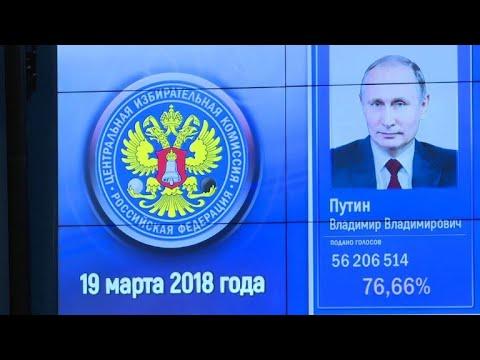 Russie: Poutine triomphe dans les urnes, l'OSCE critique