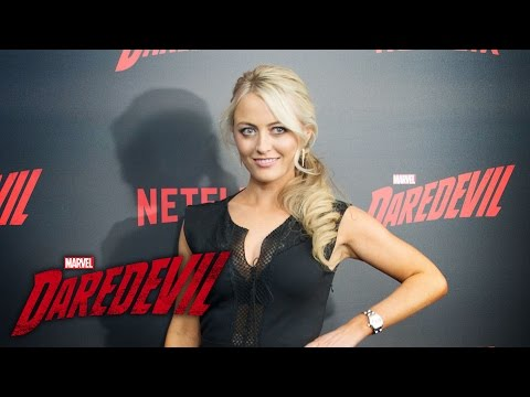 Amy Rutberg on Marci Stohl  Marvel's Daredevil Season 2 Red Carpet