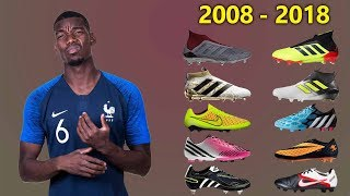 Paul Pogba - New Soccer Cleats & All Football Boots 2008-2018