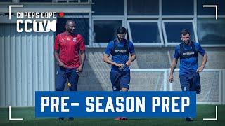 Vieira's squad prep continues | CCTV