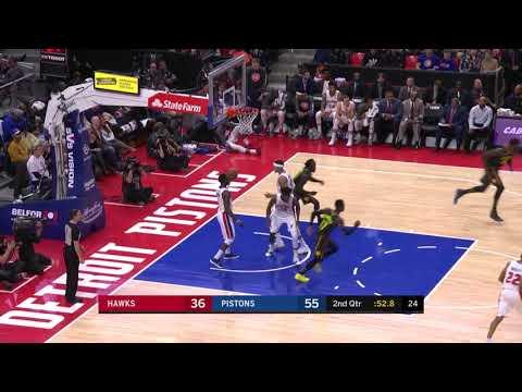 Dedmon Shows Off Range vs. Pistons