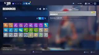 Fortnite save the world live giveaway 130s 106s and ssds