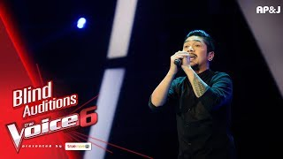 บุ๊ค - Say Anything - Blind Auditions - The Voice Thailand 6 - 3 Dec 2017