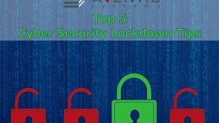 Cyber Security Lockdown Tips for SMBs Webinar
