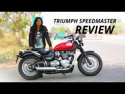 2018 Triumph Bonneville Speedmaster Review