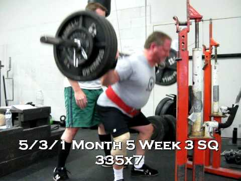 5/3/1 Month 5 Week 3 SQ 335x7