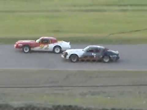 Kings Park Speedway Hobby Stock Feature Race  07/19/2014