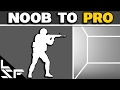 CS:GO NOOB TO PRO #17 - Peeking & Holding Angles