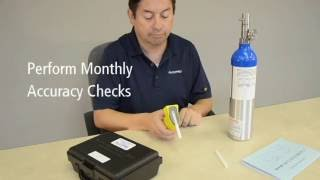 How to Conduct an Accuracy Check on the Alco-Sensor FST