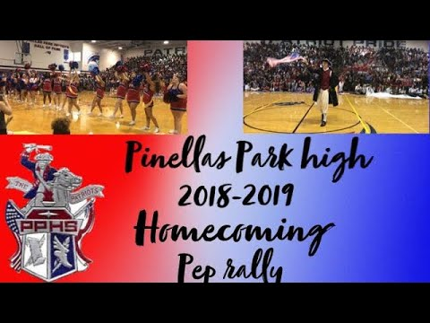 Pinellas Park high school homecoming pep rally 2k'18