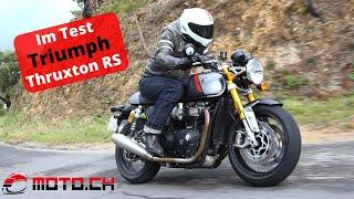 Im Test: Triumph Thruxton RS (2020, Deutsch)