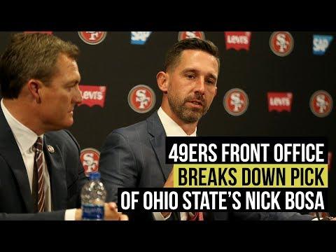 49ers: The Nick Bosa pick puts John Lynch, Kyle Shanahan on the clock