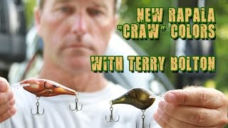New Rapala DT Series Crankbait and Shad Rap Colors with Terry Bolton Jr