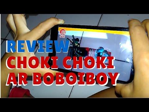 Si Kembar main Choki Choki Ar Boboiboy