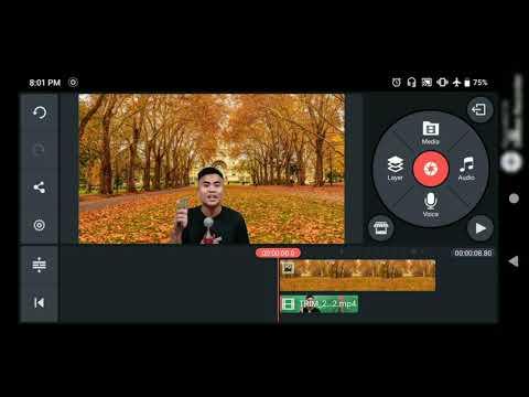 CARA MENGGANTI BACKGROUND VIDEO YOUTUBE Tanpa GREEN SCREEN di KineMaster.