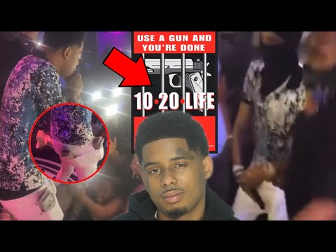 POOH SHIESTY ARRESTED FOR SHOOTING CLUB SECURITY IN MIAMI AFTER HIS MONEY WAS SNATCHED IN CLUB