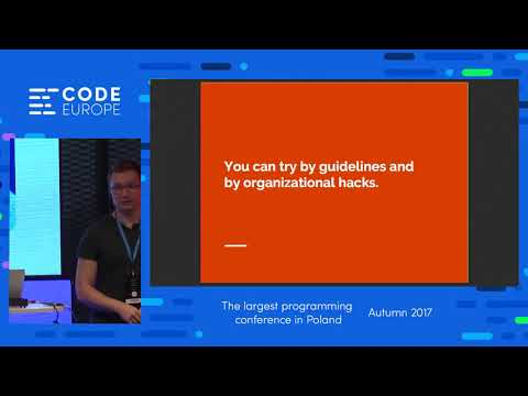 How to be an Architect in an Agile World - lecture by Felix Muller  - Code Europe Autumn 2017