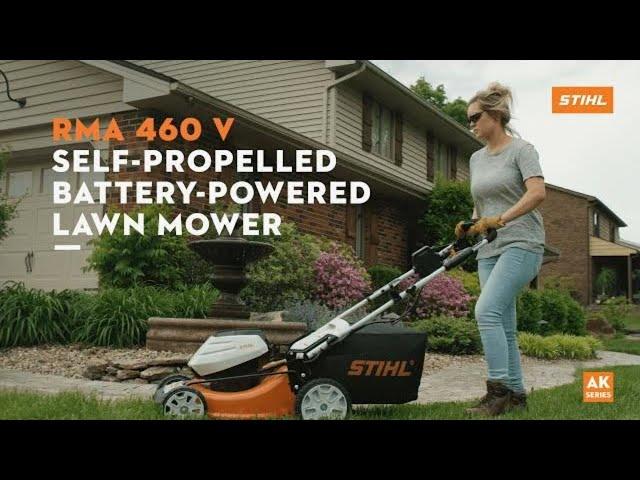 STIHL RMA 460 V Battery-Powered Self-Propelled Lawn Mower