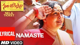 Namasthe Full Song With Lyrics Nela Ticket Songs Raviteja, Malavika Sharma