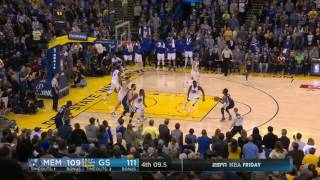 Memphis Grizzlies at Golden State Warriors - January 6, 2017