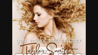 Taylor Swift - Cazier with Lyrics