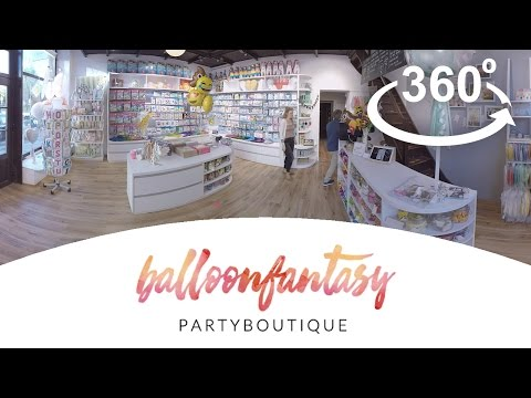 BALLOON FANTASY Partyboutique 360° Store Rundgang