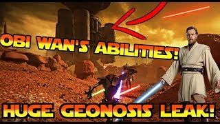 Geonosis and Obi Wan's Abilities Leaked! - Star Wars Battlefront 2 News