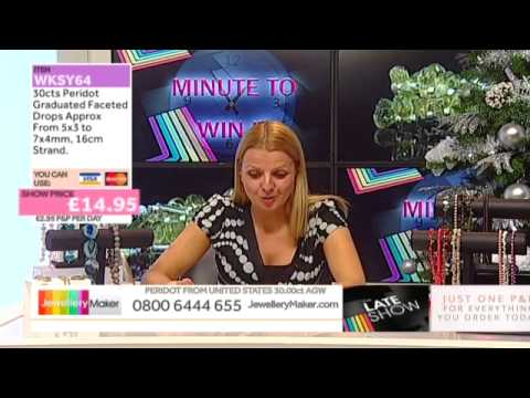 Zircon on The Late Show with Ed McKay (JewelleryMaker) LIVE 24/11/2014