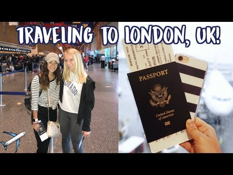 TRAVELING TO LONDON!!! | Study Abroad 2018