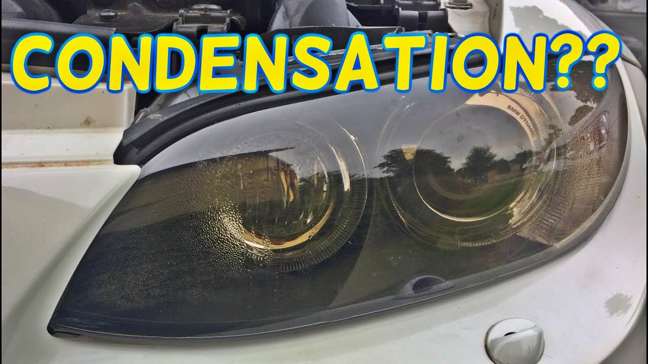 How To Remove Condensation Amp Mist From Your Headlights