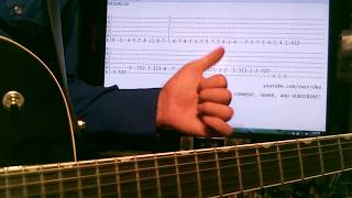 Guitar lesson Miserlou Dick Dale tab