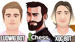 Ludwig's and XQC's Chess Bots Are Disgusting