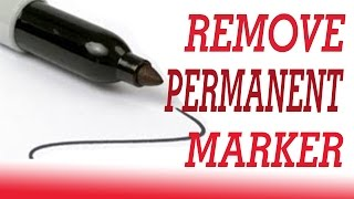 15 Ways To Remove Permanent Marker   How To Remove Permanent Marker