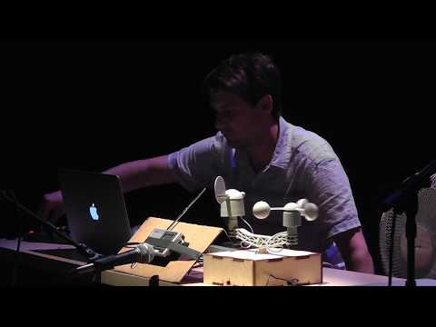 Audible Conversions - Sound Art Performance Using Wind Sensor