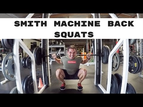 Exercise How To:  Smith Machine Back Squats