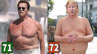 Arnold Schwarzenegger Vs Donald Trump Transformation ★ 2018