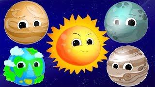 Песни планет образовательная рифма солнечная система для детей Planets Song Learn Planets