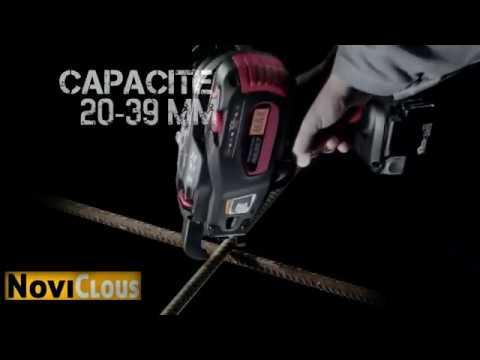 NOVICLOUS - Démonstration LIGATUREUSE MAX RB398 pour FER à béton