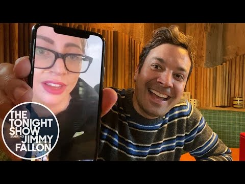 The Tonight Show: At Home Edition Jimmy Checks in with Lady Gaga