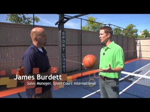 Sport Courts in Homes Today by ConnorFloor.com