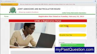 How to Re Print your JAMB Slip