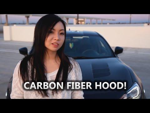 Her Carbon Fiber Hood from Seibon Install DIY (BRZ)