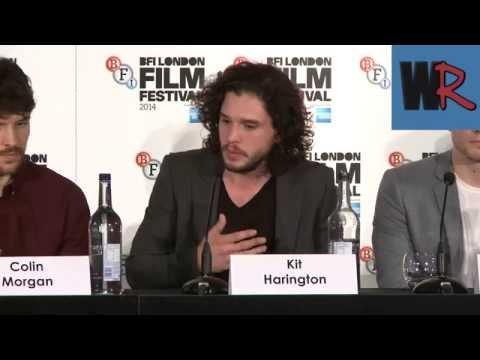 Kit Harrington, Colin Morgan and Taron Egerton Interviews - Testament of Youth - Press Conference